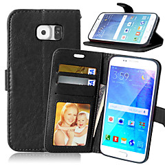 lederen portemonnee flip cover + contanten slot + fotolijst telefoon gevallen voor Samsung Galaxy S7 / S7 edge / s6 edge + / s6 edge / s6