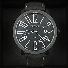お買い得  レディース腕時計-女性用 クォーツ カジュアルウォッチ レザー バンド Elegant ファッション ブラック ブラウン