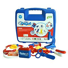 36pcs doktor diy oyuncaklar set hayali oyun oyuncak tedavi tıbbi kutusunu çalmak