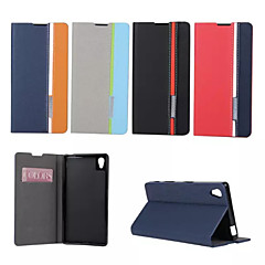 Retro Fashion Deluxe Leather flip Wallet Stand Case For Sony xperia T3/Z1mini/Z3mini/Z1/Z3/Z4/M2/M4/C4/E4
