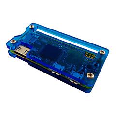 akryyli tapauksessa vadelma pi nolla - mus / läpinäkyvä / sininen