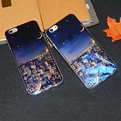 Для Кейс для iPhone 6 Кейс для iPhone 6 Plus Чехлы панели С узором Задняя крышка Кейс для Панорама города Мягкий TPU дляiPhone 6s Plus