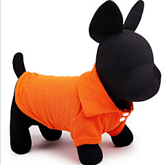 abordables Accesorios Mascota-Perro Camiseta Ropa para Perro Un Color Amarillo Rojo Verde Azul Rosa Algodón Disfraz Para mascotas Hombre Mujer Casual/Diario