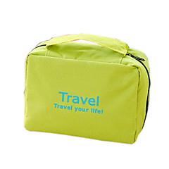 حقيبة أدوات تجميل للسفر حقيبة مستحضرات التجميل حقيبة أدوات تجميل حقيبة معلقة لأدوات التجميل مقاوم للماء المحمول قابلة للطى تعليق متعددة