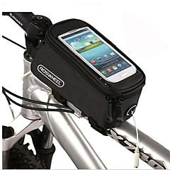 Cykeltaske 1.5LLTaske til stangen på cyklen Skridsikker Multifunktionel Touch Screen Cykeltaske PVC Terylene CykeltaskeAndre lignende