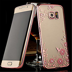 For Samsung Galaxy Note Transparent Etui Bagcover Etui Blomst TPU for Samsung Note 5 Note 4 Note 3