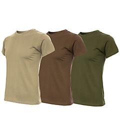 남성용 여성용 남여 공용 하이킹 T-셔츠 높은 호흡 능력(>15.001g) 통기성 소프트 초경량 재질 땀 흡수 기능성 소재 티셔츠 탑스 용 캠핑 & 하이킹 권투 수렵 피싱 등산 운동&피트니스 봄 여름 가을 M L XL XXL XXXL