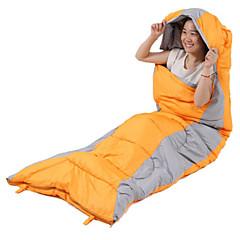 Sac de dormit Sac de Dormit Dreptunghiular 15°C Gros 220X75 Camping & Drumeții Voiaj Single