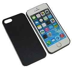 Недорогие Кейсы для iPhone 5-Кейс для Назначение iPhone 5 Apple Кейс для iPhone 5 Other Кейс на заднюю панель Сплошной цвет Твердый ПК для iPhone SE/5s iPhone 5