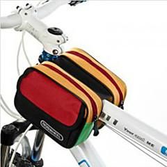 ROSWHEEL® 自転車用バッグ 5LL自転車用フレームバッグ 防水 / 防雨 / 耐衝撃性 / 耐久性 自転車用バッグ ナイロン / 防水素材 / テリレン サイクリングバッグ サイクリング 16*11*9