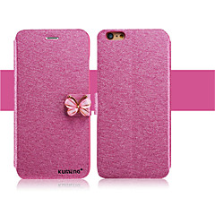 tanie Etui do iPhone 6-Kılıf Na Apple iPhone X iPhone 8 iPhone 6 iPhone 6 Plus Etui na karty Z podpórką Flip Pełne etui Połysk Twarde Skóra PU na iPhone X