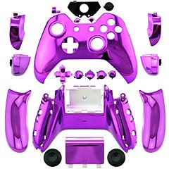 お買い得  Xbox One用スキン-紫/青/緑メッキのxbox 1コントローラ用のコントローラケース