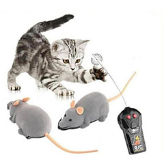cheap Other RCs-Remote Control Building Kit Animals Toys Remote Control / RC Walking Mouse 1 Pieces Halloween Children's Day Gift