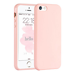 billige iPhone 5-etuier-For iPhone 6 etui iPhone 6 Plus etui Andet Etui Bagcover Etui Helfarve Blødt TPU for iPhone 6s Plus/6 Plus iPhone 6s/6 iPhone SE/5s/5