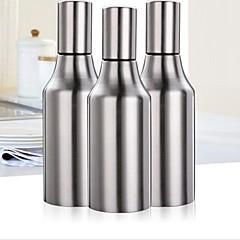 お買い得  キッチン収納-500ミリリットルキッチンステンレス鋼漏れ防止油滴鍋醤油酢ボトル