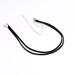preiswerte Halsketten-Damen Halsketten / Tattoo-Hals - Tattoo Stil, Europäisch, Simple Style Schwarz Modische Halsketten Schmuck Für Party, Alltag, Normal