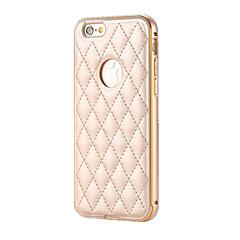 Для Кейс для iPhone 6 / Кейс для iPhone 6 Plus Покрытие Кейс для Задняя крышка Кейс для Один цвет Твердый АлюминийiPhone 6s Plus/6 Plus /