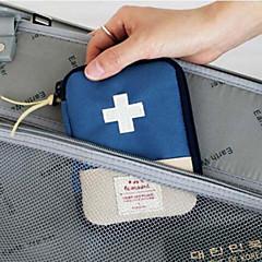 abordables Salud durante el Viaje-Caja de Viaje para Pastillas Portátil Almacenamiento para Viaje para Portátil Almacenamiento para Viaje Rojo Azul