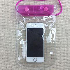 Στεγνό Κουτιά / Στεγανές Τσάντες Unisex Κινητό τηλέφωνο / Αδιάβροχο Καταδύσεις & Κολύμπι με Αναπνευστήρα Μπλε PVC
