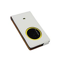 إلى نوكيا حالة قلب غطاء كامل الجسم غطاء لون صلب قاسي جلد اصطناعي Nokia Nokia Lumia 1020