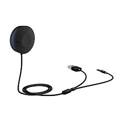 Недорогие Bluetooth гарнитуры для авто-многофункциональный комплект громкой связи Bluetooth автомобиля и Bluetooth музыкальный приемник