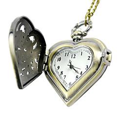 billige Lommeure-Herre Quartz Digital Digital Watch Lommeure Afslappet Ur Legering Bånd Vedhæng Gul