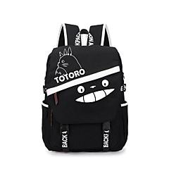 bolsa Inspirado por Mi vecino Totoro Gato Animé Accesorios de Cosplay Maleta mochila Lienzo Hombre Mujer