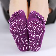 abordables Calcetines-Mujer Calcetines de yoga Calcetines A prueba de resbalones / Reductor del Sudor para Yoga