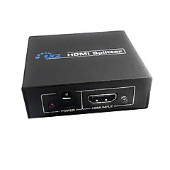 HDMI V1.3 1X2 HDMI Splitter(1 in 2 out)Support 3D 1080P
