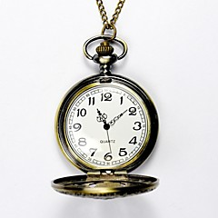 Męskie Zegarek kieszonkowy Kwarcowy Grawerowane Stop Pasmo Złoty