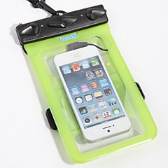 رخيصةأون -صناديق الجافة حقائب ناشفة الهاتف الجوال ضد الماء الغطس و الماء PVC أسود