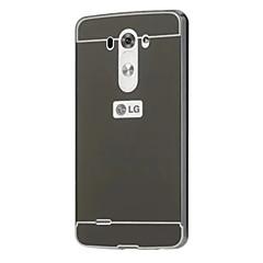 Недорогие Чехлы и кейсы для LG-Кейс для Назначение LG G3 / LG / LG G4 Кейс для LG Покрытие / Зеркальная поверхность Кейс на заднюю панель Однотонный Твердый Акрил для / LG K10