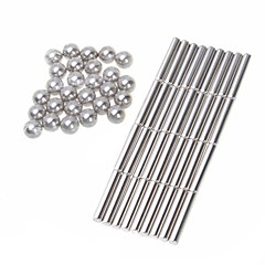 halpa -Magneettilelut Super Strong harvinaisten maametallien Magneetit 63 Pieces 6mm Lelut Magneetti Sfääri Lahja