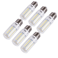 cheap LED Bulbs-E14 E26/E27 LED Corn Lights T 56 SMD 5730 1350 lm Warm White Cold White 3000/6000 K Decorative AC 220-240 AC 110-130 V 6pcs