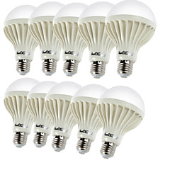 cheap LED Bulbs-YouOKLight 450 lm E26/E27 LED Globe Bulbs B 9 leds SMD 5630 Decorative Warm White AC 220-240V