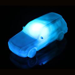 お買い得  屋内照明-創造的な色変化アクリルカラフルな車が夜の光、小さなランタンの家の装飾を主導しました
