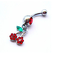 Women's Body Jewelry Navel Rings/Belly Piercing Crystal Simulated Diamond Unique Design Fashion Jewelry Rainbow Jewelry Daily Casual 1pc