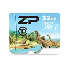 ZP 32GB بطاقة مايكرو SD بطاقة TF شريحة ذاكرة UHS-I U1 CLASS10