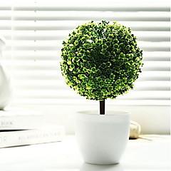 """Недорогие Женские украшения-10,2 """"ч моделирование дерево в белой вазе"""