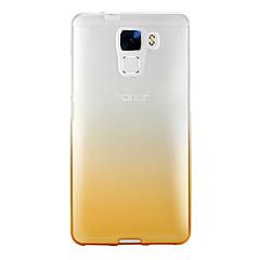 Πίσω Κάλυμμα Ημιδιαφανές Όμπρε TPU Moale Case Cover για το HuaweiHuawei P9 / Huawei P9 Lite / Huawei P9 Plus / Huawei Honor 8 / Huawei