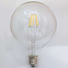 7W E26/E27 LED-hehkulamput G125 8 ledit COB Vedenkestävä Koristeltu Lämmin valkoinen 700lm 2700K AC 220-240V