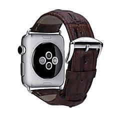 abordables Accesorios para Apple Watch-Ver Banda para Apple Watch Series 4/3/2/1 Apple Hebilla Clásica Cuero Auténtico Correa de Muñeca