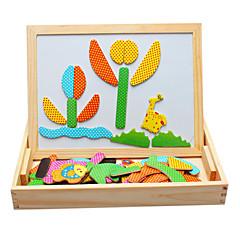Juguetes Magnéticos Piezas 40*12*5 MM Juguetes Magnéticos Juguete Educativo Puzzle Juguetes ejecutivos rompecabezas del cubo Para regalo