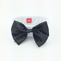 Dog Tie/Bow Tie Dog Clothes Wedding Black Costume For Pets