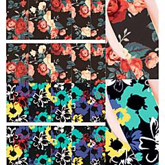 お買い得  ウォーターネイルシール-1 花型 ファッション 日常 高品質