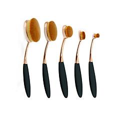 billige Makeup Børster-5 Brush Sets Rougebørste Læbebørste Concealer-børste Pudderbørste Foundationbørste Andre Børster Konturbørste Syntetisk HårProfessionelt