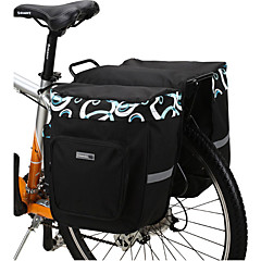 Bisiklet Çantası 30LBisiklet Arka Çantaları/Bisiklet Tekerleği Sepetleri Su Geçirmez Giyilebilir Darbeye Dayanıklı Bisikletçi Çantası File