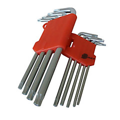 N & S® In The Long Nine Sets of Torx Kit Hardware Hand Tools