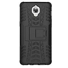 olcso Tokok-Mert OnePlus tok Ütésálló Állvánnyal Case Hátlap Case Páncél Kemény PC mert OnePlus One Plus 3 One Plus 2 One Plus One Plus X