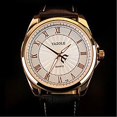 preiswerte Tolle Angebote auf Uhren-Herrn Armbanduhr Wasserdicht PU Band Charme Schwarz / Braun / SODA AG4